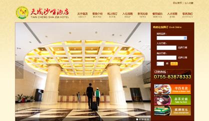 酒店网站建设,南山网络公司